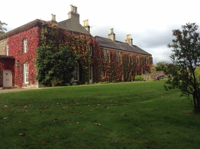The house in autumn colours