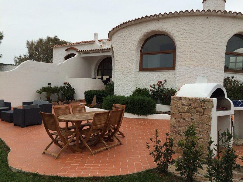 Villa sul mare - La Marinedda, alquiler vacacional en Paduledda
