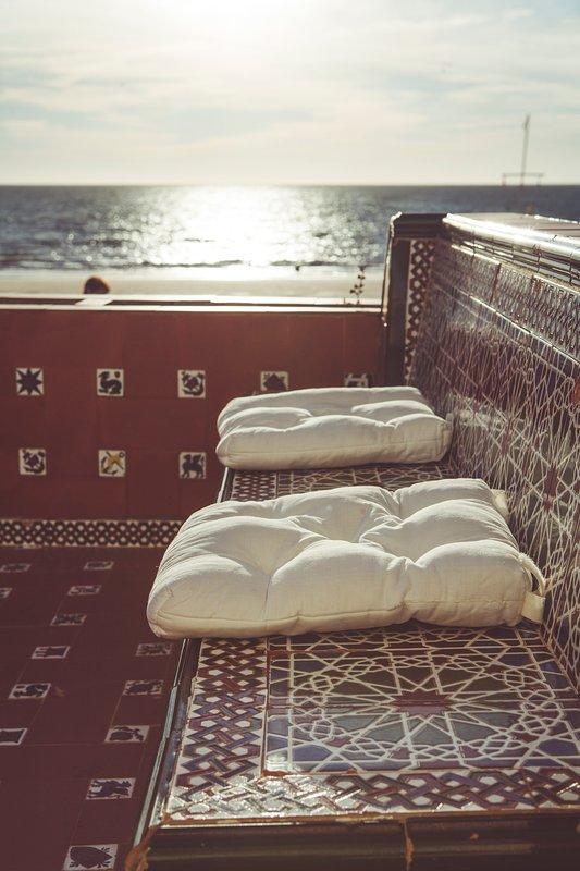 Armchair terrace to enjoy the views