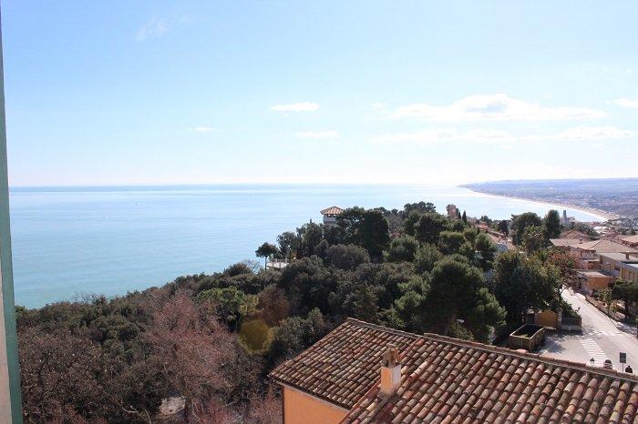 vista para o mar a partir do apartamento