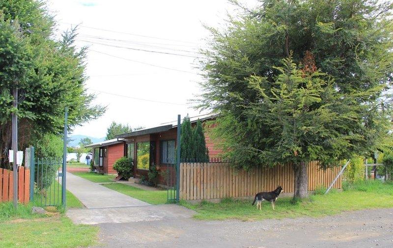 Linderos cabins - Entrance