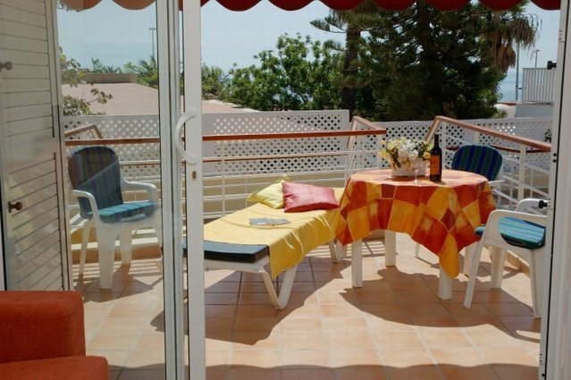 80 m vom Strand, schönes, günstiges Apartment, Los Camarones, location de vacances à San Agustin