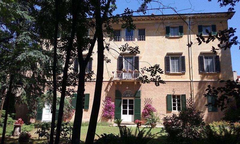 Lugnano nel Comune di Vicopisano e nella bellissima realtà dei Monti Pisani, è a, holiday rental in San Giovanni alla Vena