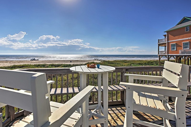 Experience the beach retreat of a lifetime at this sensational Galveston vacation rental house!