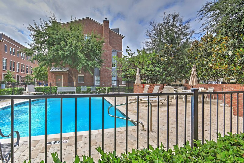 Look forward to spending many days relaxing by the community pool!