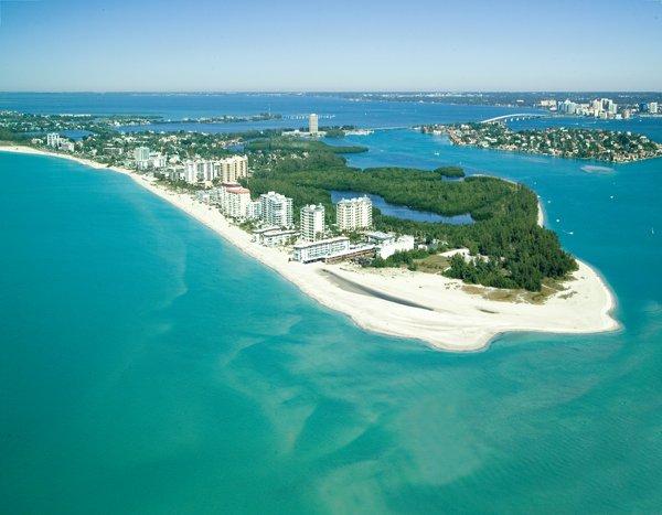 Lido Key, l'une des magnifiques plages de Sarasota