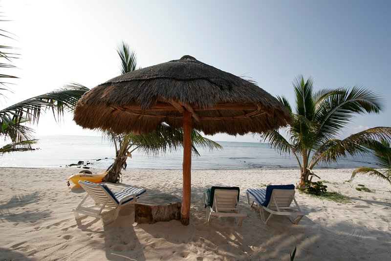 Nothing better than Sandy Beaches, Cocos Frescos and Riviera Maya Breezes!