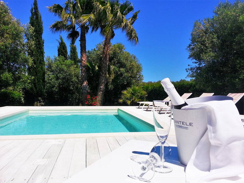 Villa Gina: piscina, privacy e design a Torre San Giovanni - Salento, holiday rental in Torre San Giovanni