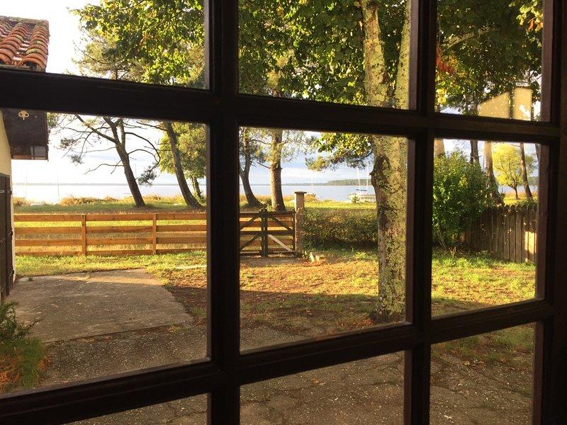 Maison en 1° ligne Du Lac du Moutchic à Lacanau, holiday rental in Lacanau-Ocean