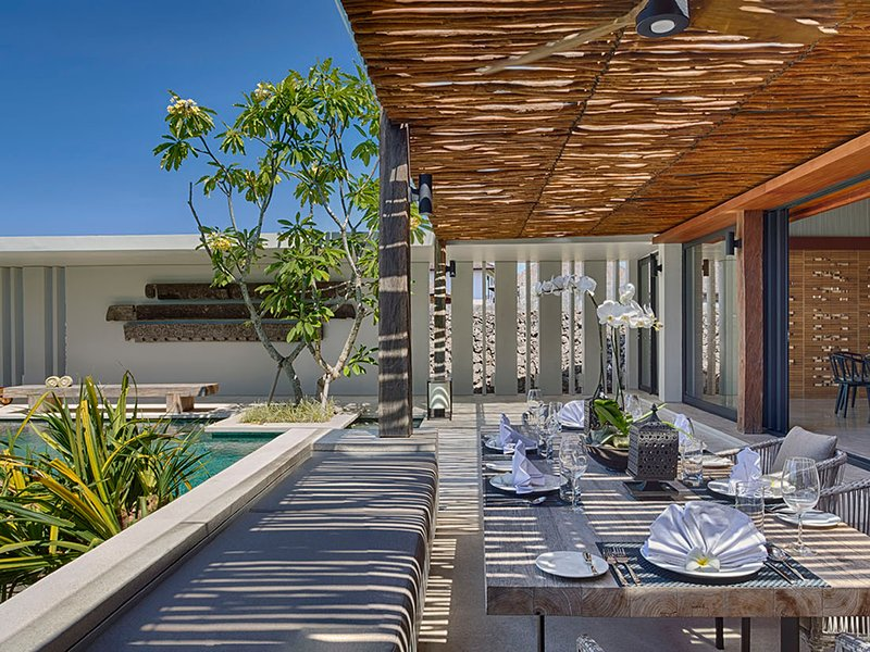 Villa Hamsa - Espaces de vie ouverts