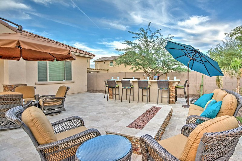 You'll experience the best of outdoor living here!