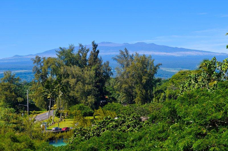 Great views from unit 501 at popular Maunaloa Shores in Keaukaha, Hilo's beach park area