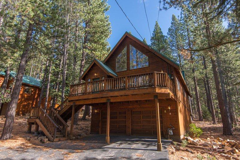 Edificio, cabaña, refugio, cubierta, porche