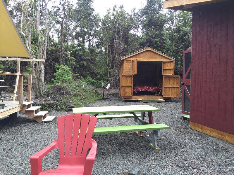Volcano Retreat, location de vacances à Volcano