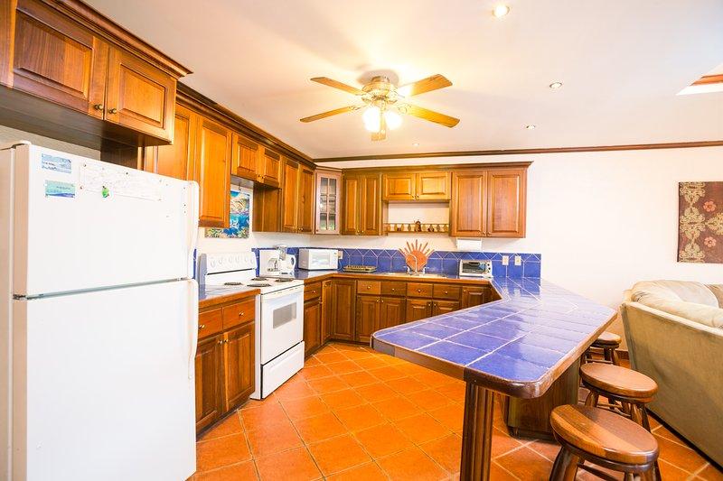 alternative view of kitchen.