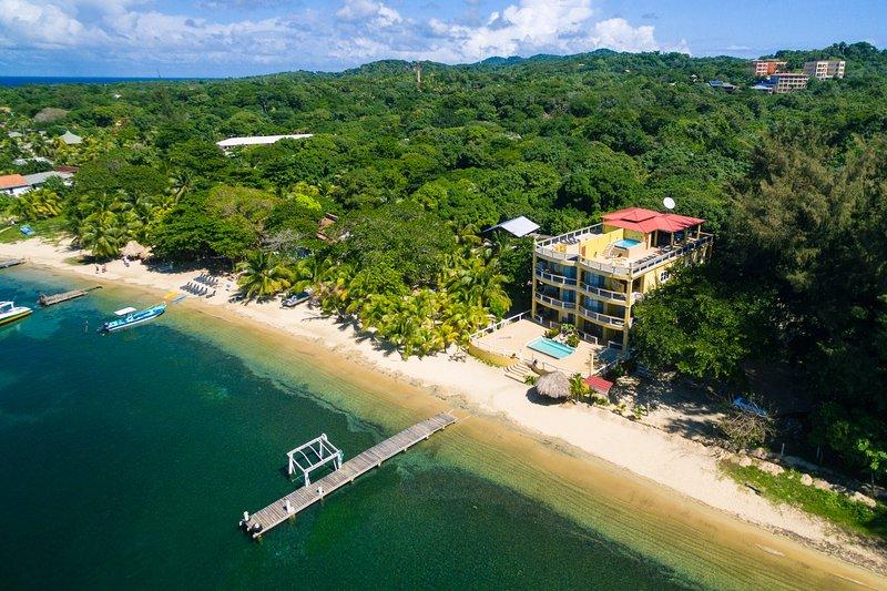 Vue aérienne de Villas Del Playa