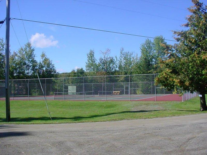 pistas de tenis comunitarias