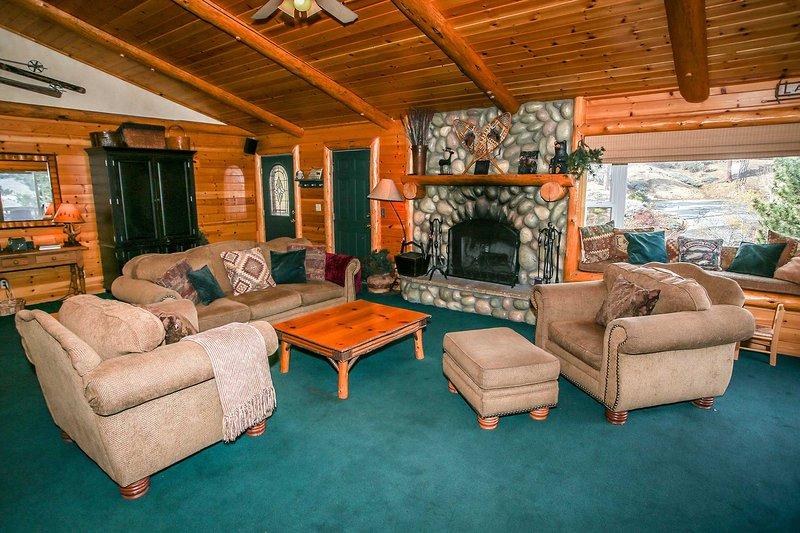 Sala de estar de nível de entrada