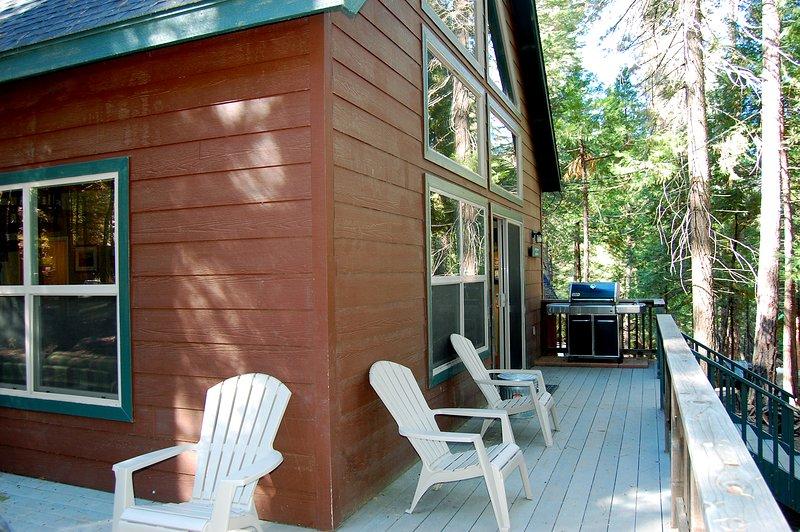 Side & front deck