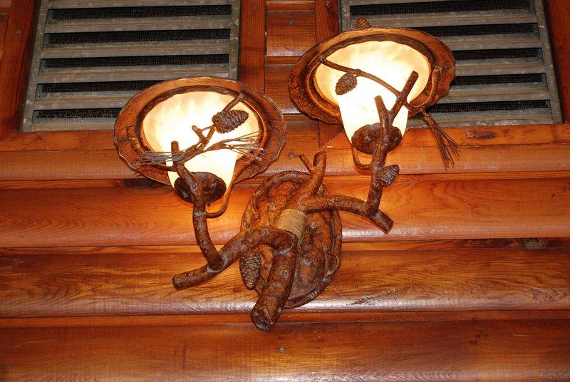 300 vatios de iluminación superior a la zona de la cubierta