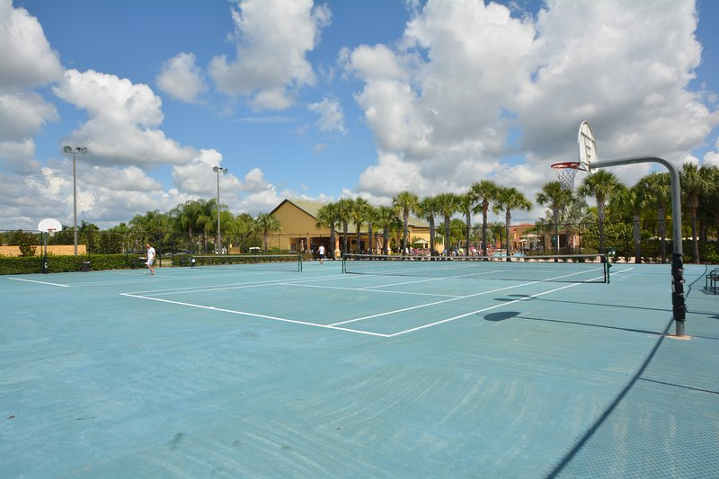 On-site facilities:- Tennis/basketball courts