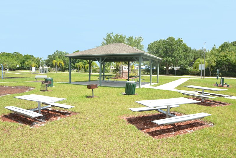 On-site facilities: second covered BBQ area with fitness circle