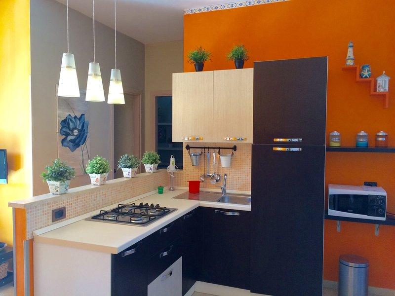 sala de estar cozinha