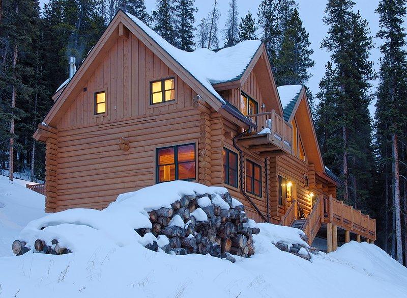 Vue d'hiver de deux chambres Breckenridge Location de vacances
