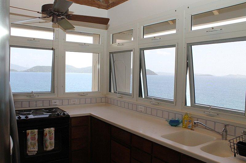 Kitchen Ocean Views