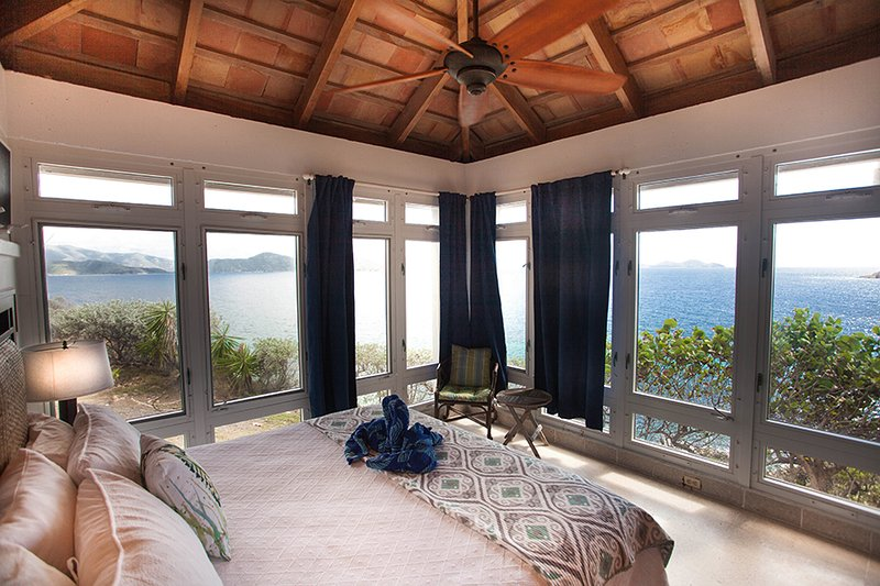 Master Suite with King Bed and Ocean Views