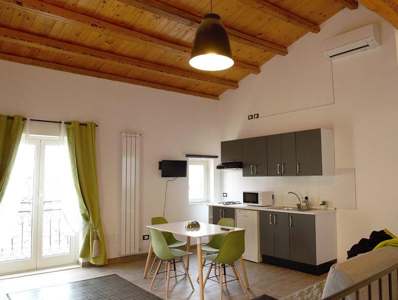 Loft luminoso a monreale, holiday rental in Pioppo