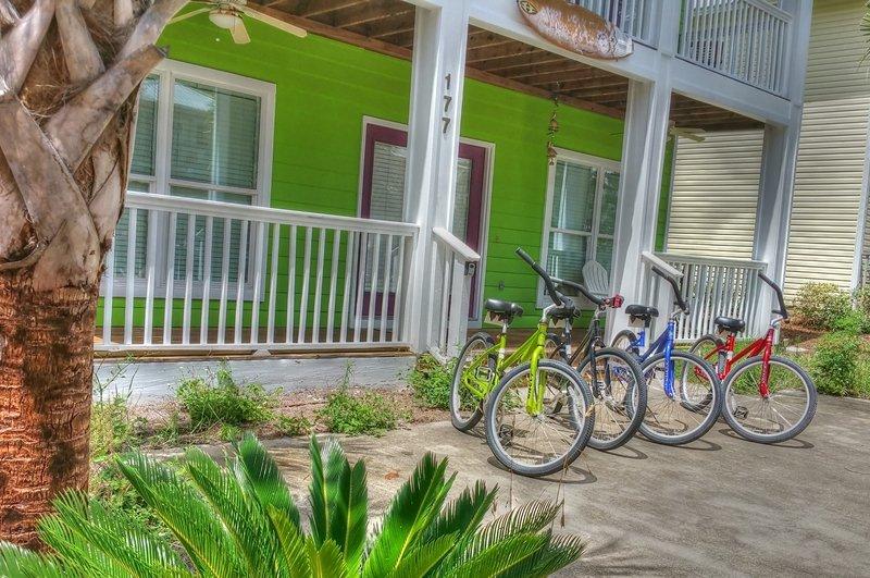 4 vélos adultes standard avec cette location