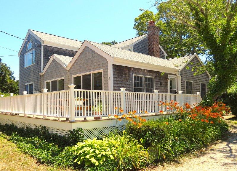 Casa grande y hermosa en el popular barrio de Ellis Landing Beach en East Brewster.