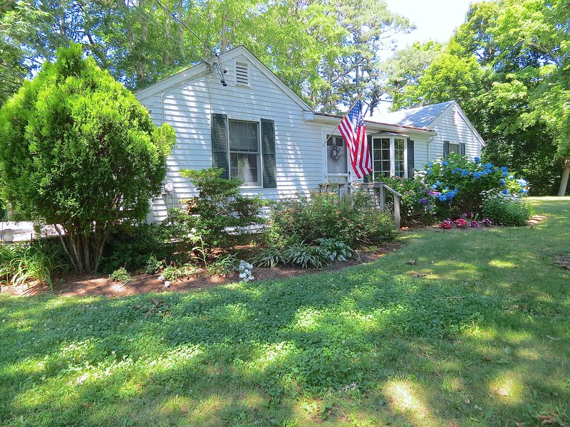 It's a classic Cape cottage, renovated and updated throughout for a comfortable, upscale vacation experience.