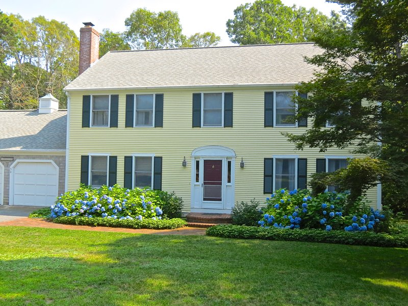 Handsome, well-kept colonial style home has plenty of space for your group of up to eight.