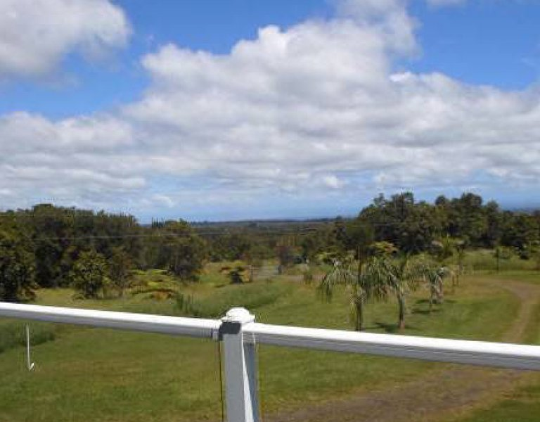 Panoramic view from the front Lanai