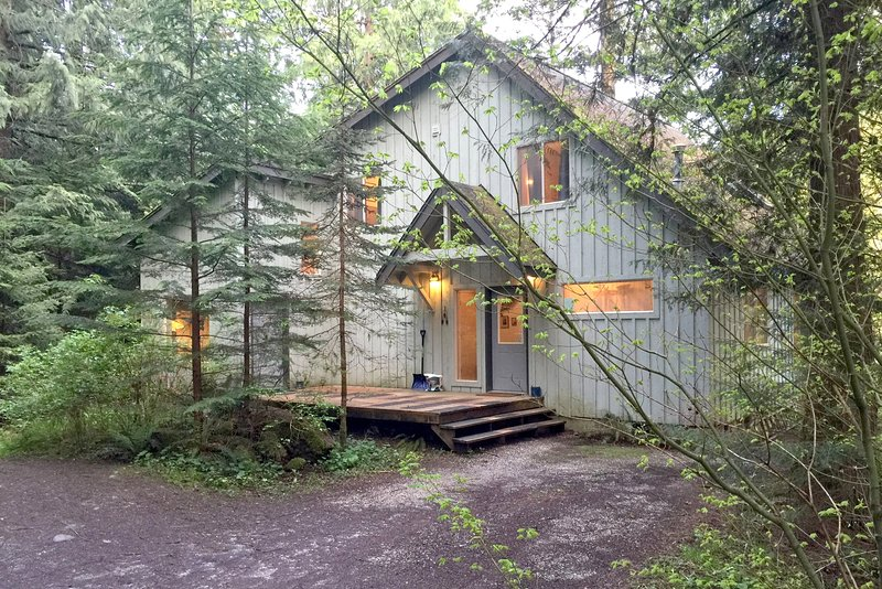 Mt Baker Rim Family Cabin #19 -RIVERSIDE, HOT TUB, SAUNA, WIFI*, PETS OK, SLP-10, vacation rental in Glacier