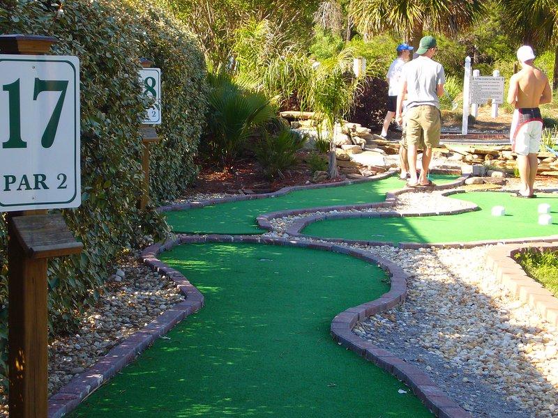 Putt Putt Golf right onsite!