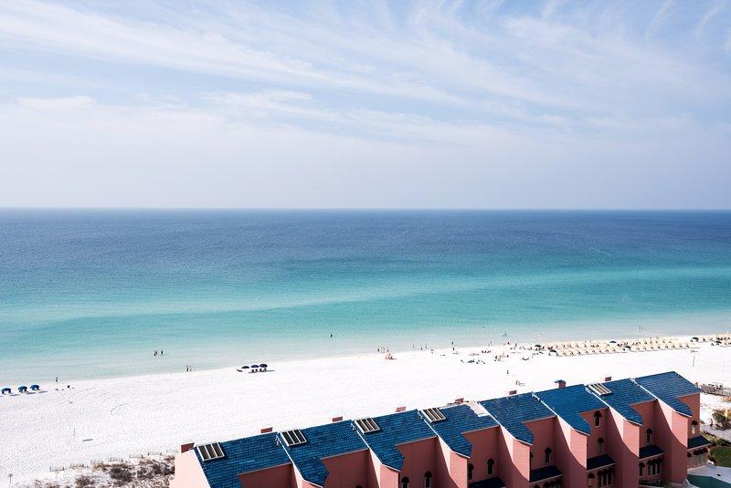 Enjoy your balcony Gulf view!