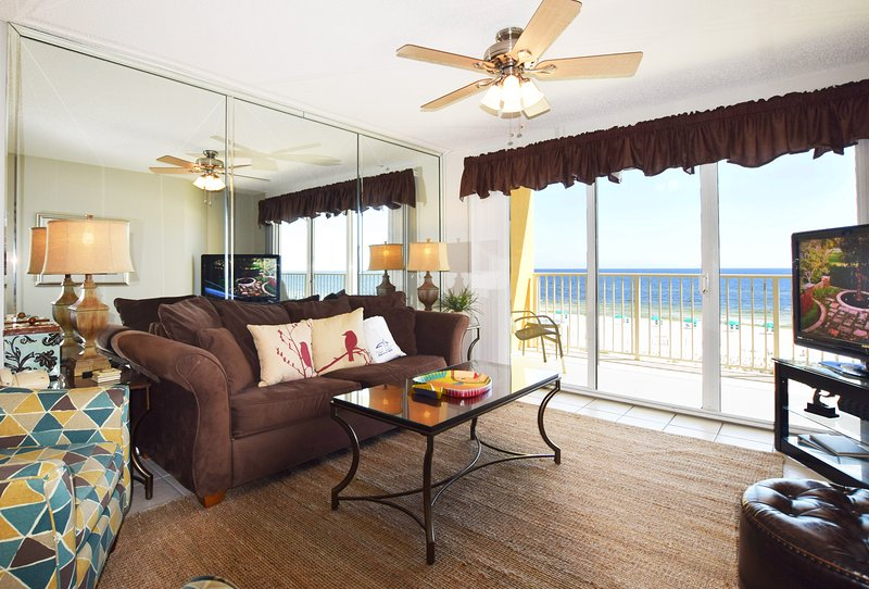 Living Room Gulf Dunes 309 Fort Walton Beach Okaloosa Island Vacation Rentals