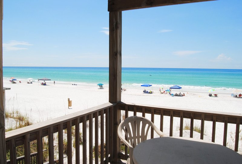 Balcony 1st Floor Sandollar Townhomes Unit 11 Miramar Beach Destin Florida Vacation Als
