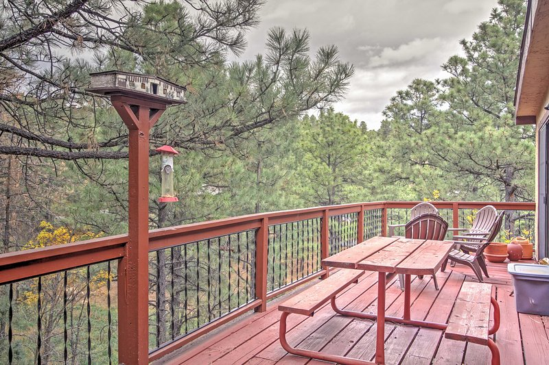 This vacation rental home promises a rejuvenating New Mexico retreat!