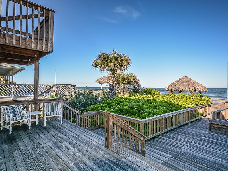 Silla, muebles, cubierta, porche, Boardwalk