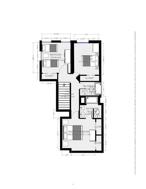 Floor plan for 3rd Floor