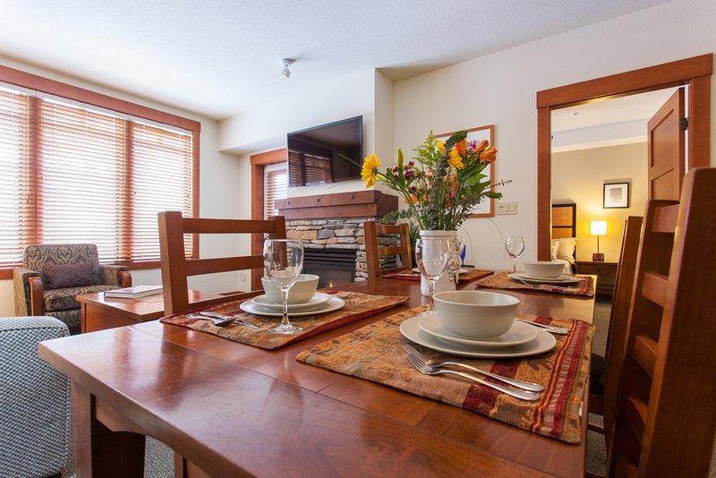 Table à manger; sièges 4