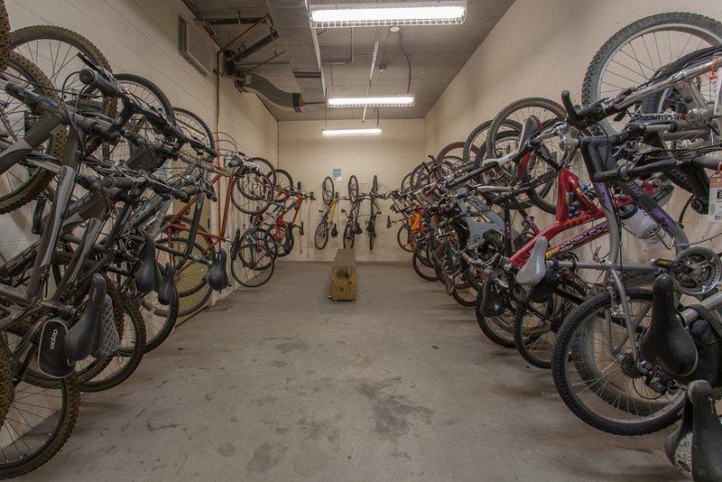 Vélo Salle de stockage