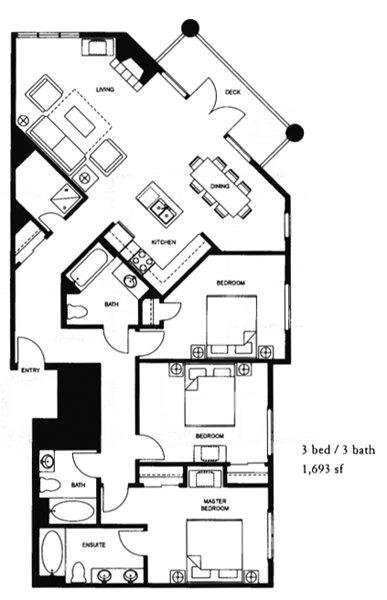 Floor Plan Village #2230