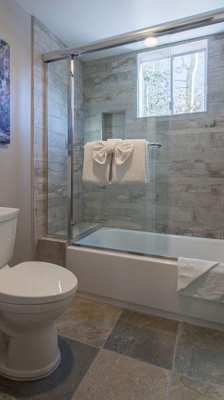 En-suite Master Bathroom-Double Vanity / douche en bad Combo