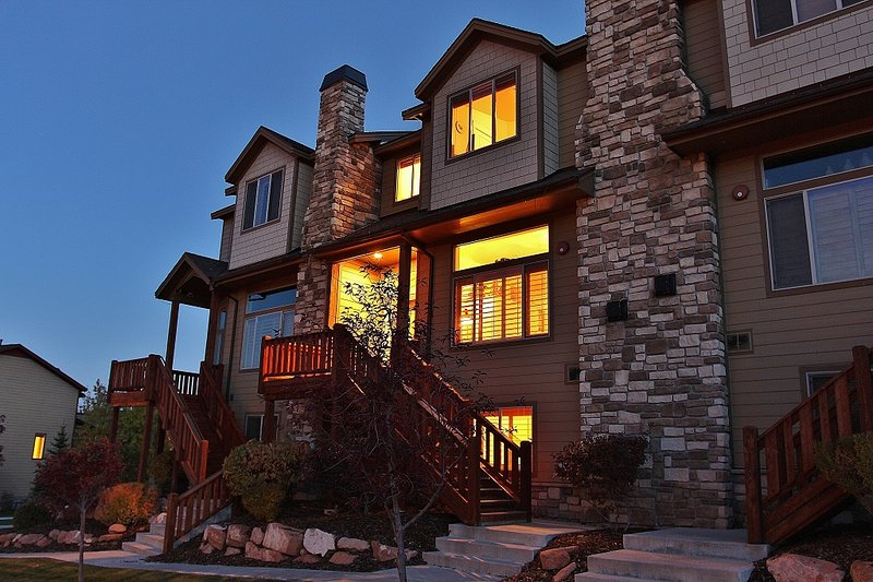 Exterior da frente do Park City Bear Village - Park City