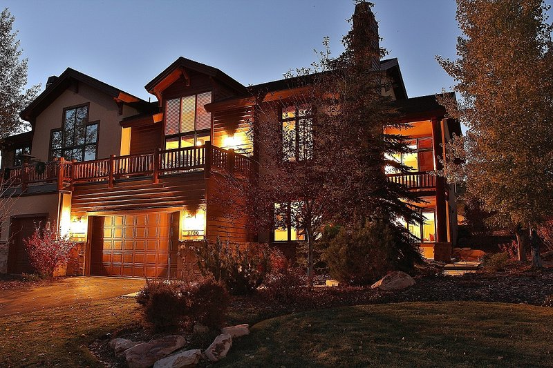 Front exterior of Park City Serenity - Park City with great decks and amazing views.